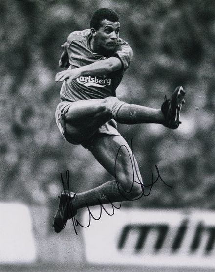 Keith Curle, Wimbledon, signed 10x8 inch photo.